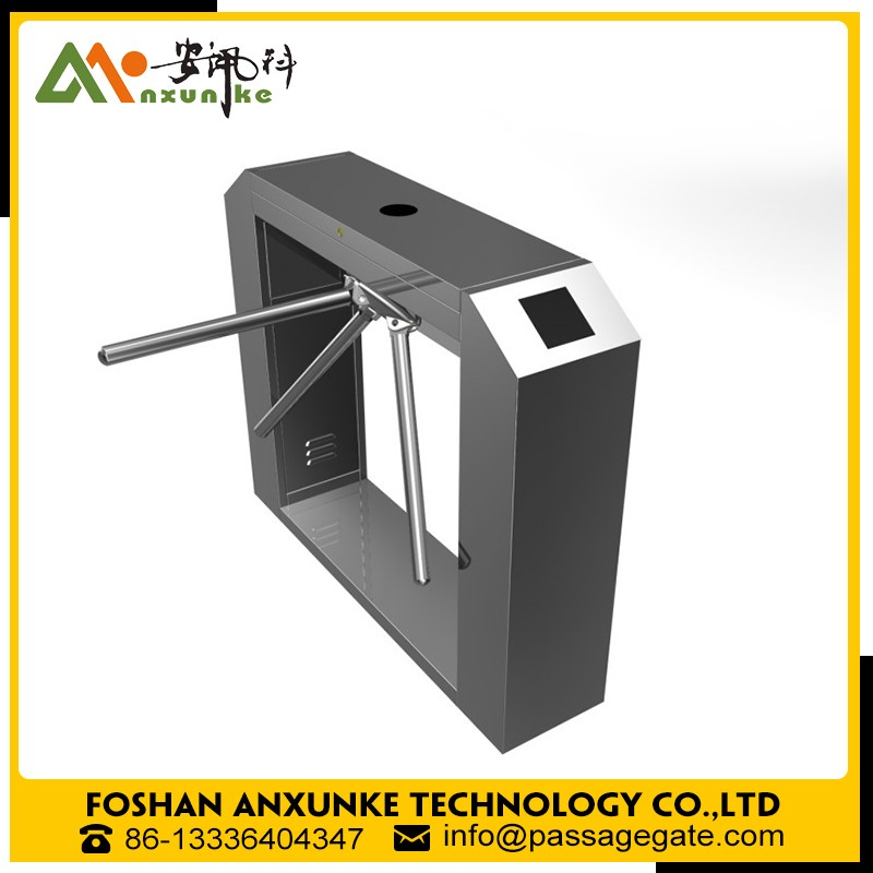 Anxunke automatic face recognition tripod turnstile for the clubs