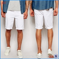 Dongguan OEM Service Custom Mens Fashion Plain Blank Chino Bermuda Shorts