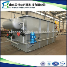 20CBM/day Small Food Industry Oily Wastewater Flocculation Machine, Small DAF unit, quick remove BOD, COD, TSS