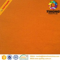 plain cotton canvas anti flammable fabric