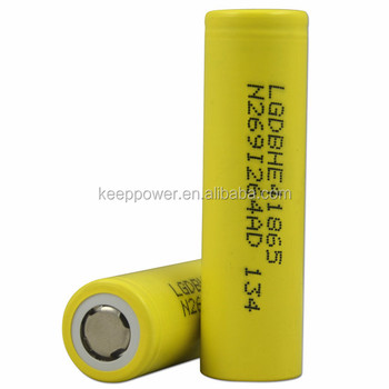 20A discharge - ICR18650HE4 lg he4 18650 battery 3.6V 2500mah