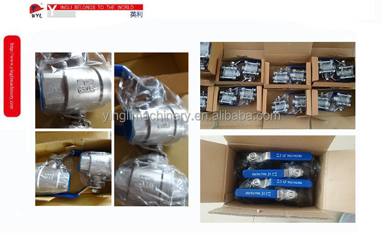 "BALL-VALVE-3-PIECE-FLANGED 1"" DIN2999 SS316"