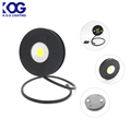 Multi-purpose Round Shape Cordless Telescopic Folding LED Flexible Arm Magnetic Work Light