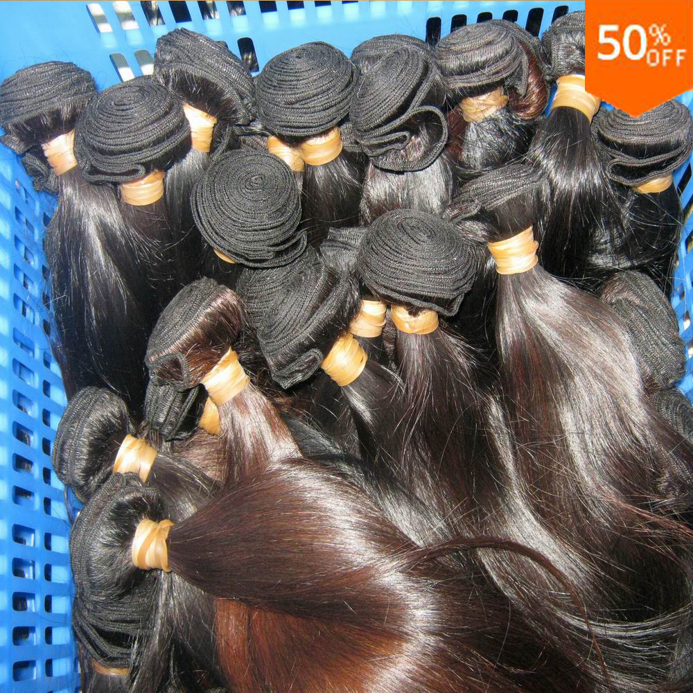Pretty proper Wholesale Peruvian Straight virgin Human <strong>Hair</strong> 10pcs/lot Kilo Price 7A Natural oil <strong>hair</strong>