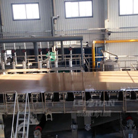 Whole paper making production line vat former kraft paper machine for sale