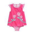 Baby Girls' Ruffled Shortall - Pink 18 months