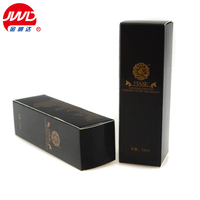Hot stamping display cardboard logo printing perfume packaging box