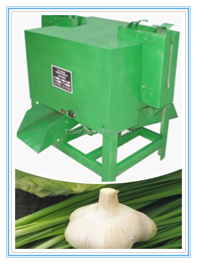 Commercial Industrial Electric garlic root cutting Machine /garlic stem and tail cutting machine