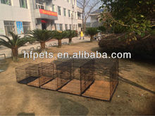 Hot Selling Cheap Foldable Two Doors Iron Dog Crate