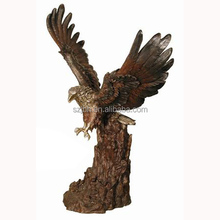 Big Life Size Customized fly eagle Sculpture