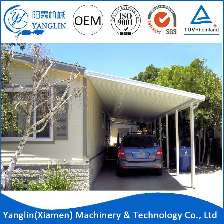 2016 Newest Design For Motorcycle Aluminum Carport Roofing Material