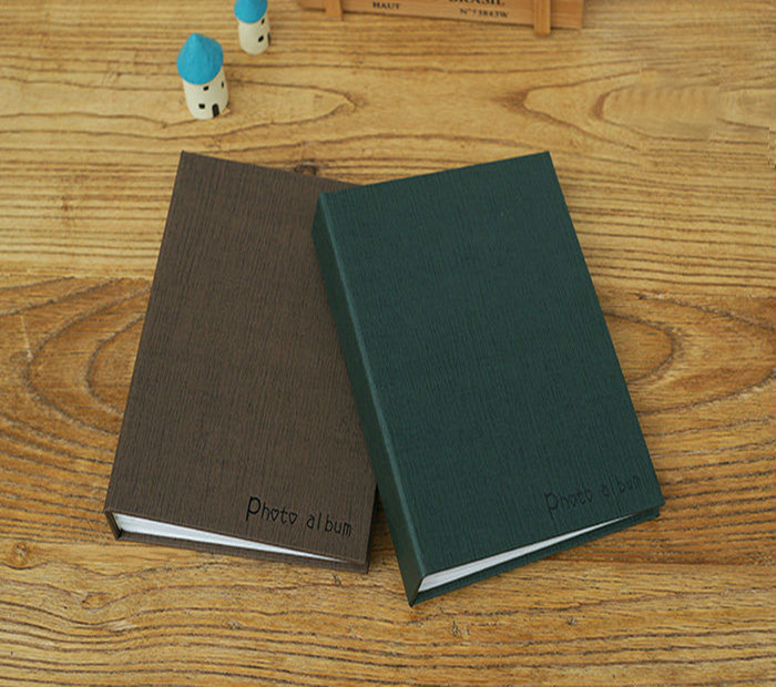 New item imitation PU leather A4 photo album