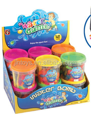 Kids funny game barrel o-slime toys promotional toy 12 in 1 toy slime