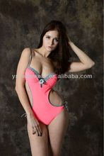 2014 New arrival!Sexy cut out one piece swimwear for women