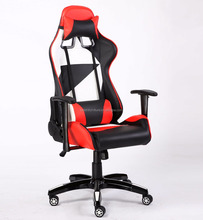 2018 New and Popular Design PC Game Racing Chair with High Gloss Base and Adjustable Armrest-BL7505-Tema-