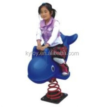 Whale Plastic kids rocking horse for sale