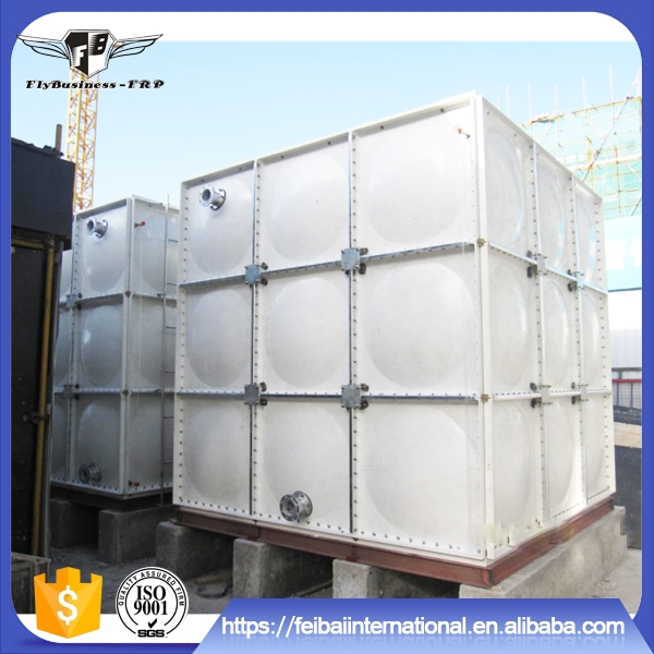 Manufacturers wholesale can be customized grp assembled water tank
