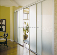 Frosted glass interior door for bathroom and smoke glass frosted price