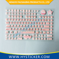 Wholesale Colored Protective Custom Keyboard Skin Sticker for Laptop
