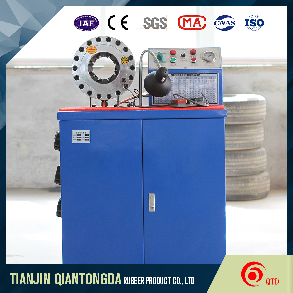 Competitive first-class service portable air hose crimping machine hydraulic