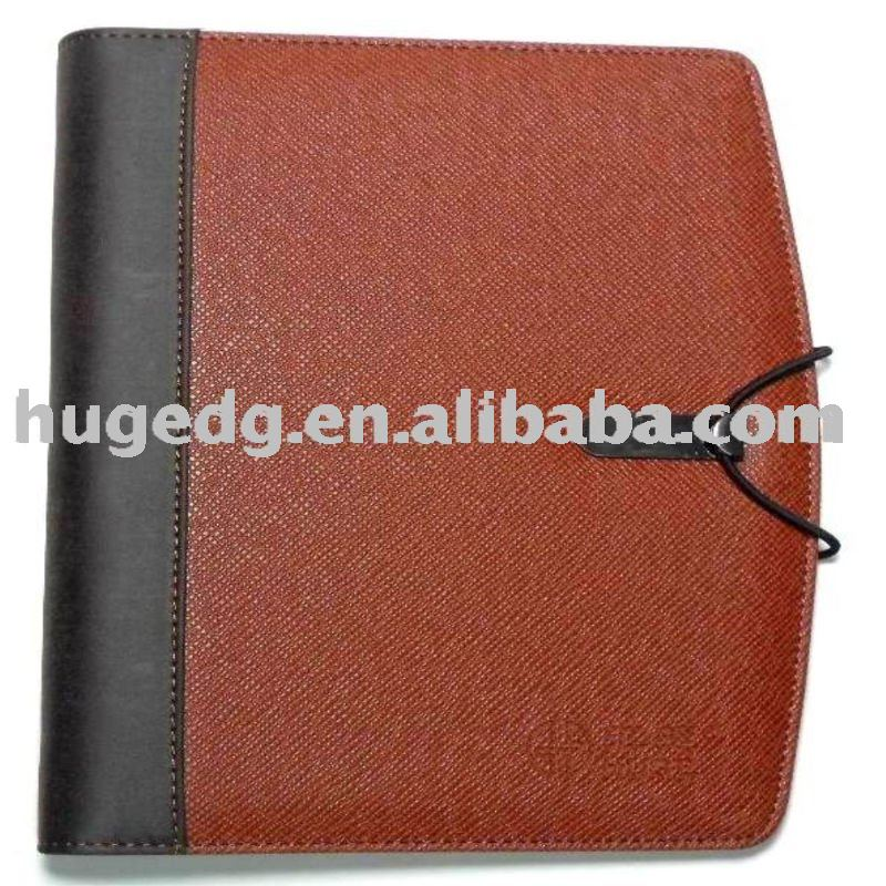 Promotion factory direct wholesleleather organizers& Agenda
