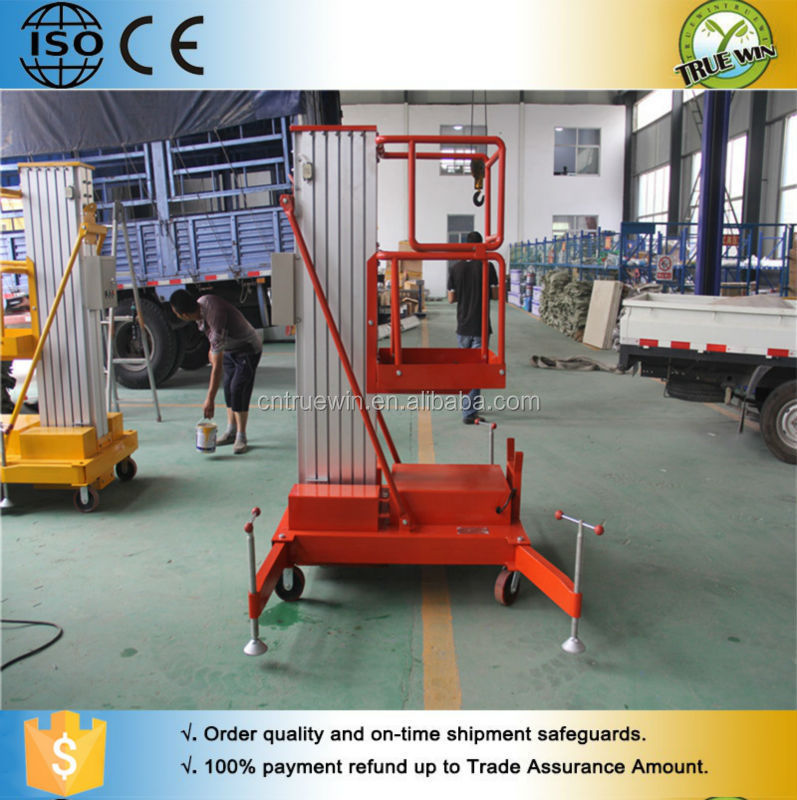 high rise hydraulic articulated aerial working platforms for cleaning