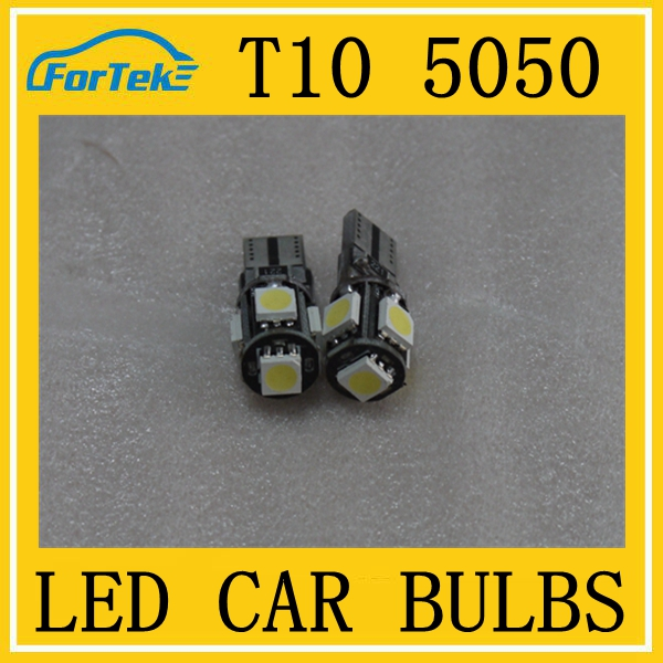 Real Manufacturer Wholesale high quality t10 led bulb auto 5050