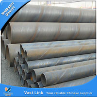 Mill Certificated spiral welded mild steel pipes