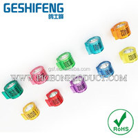 YOYO cheaper rfid pigeon foot ring,pigeon racing club with ring