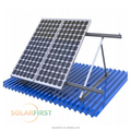 solar mount system,solar mounting bracket,frames, structures,2017 hot sale 10KW flat roof solar panels mounting for home use