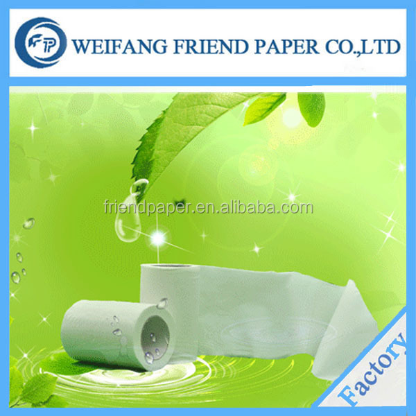 OEM White Standard roll China manufacturing embossed septic safe toilet paper