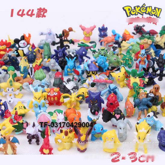 Mini Poke Go Mon Go Pikachu PVC Plastic Figures Action For Kids Children Birthday Holiday Toys Gifts