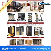 Design professional mosaic tile display moving metal rack