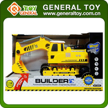 1:14 Scale 4CH ABS Children Friction Truck RC Excavator With Light Sound