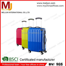 china factory Top Grade Creative PC ABS Trolley Case With 360degree Wheels