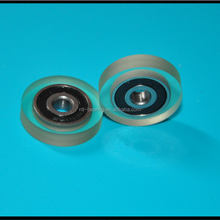 custome casting polyurethane bearing 5*22*5mm for clear extension