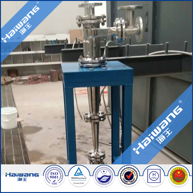 Haiwang Hydrocyclone, Stainless Steel Cyclone Separator Price
