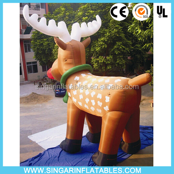Big Animated christmas inflatable reindeer at good quality