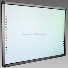 "Riotouch 69""-130"" 10 fingers touch Smart Interactive Whiteboard for sale USB IR Classroom Teaching Smart Whiteboard"