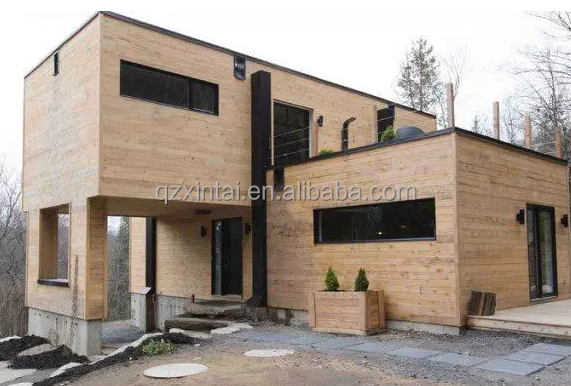 prefabricated finland wood wooden fence bed room house