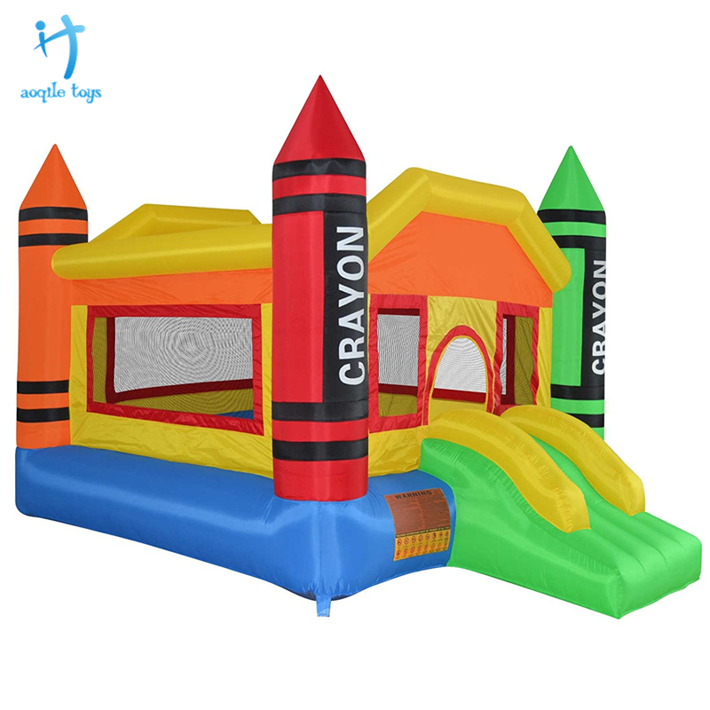 Most selling products bouncy castle inflatable with water slide