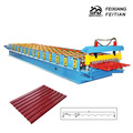 Trapezoidal Steel Sheet Roll Forming Machine for Roofing