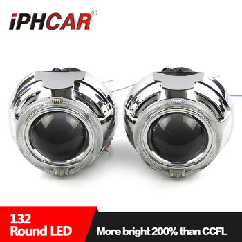 IPHCAR 3.0inch D2S Hid Bi-xenon Projector Lens with Led Daytime for Xenon Headlight