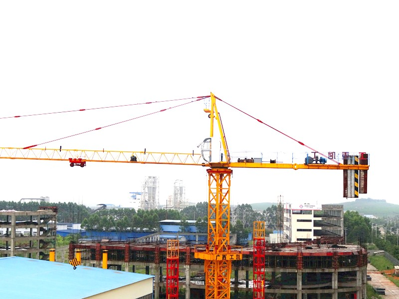 QTZ6015 fixed topkit Tower crane