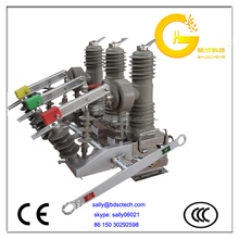 outdoor high voltage vacuum circuit breaker switch with control