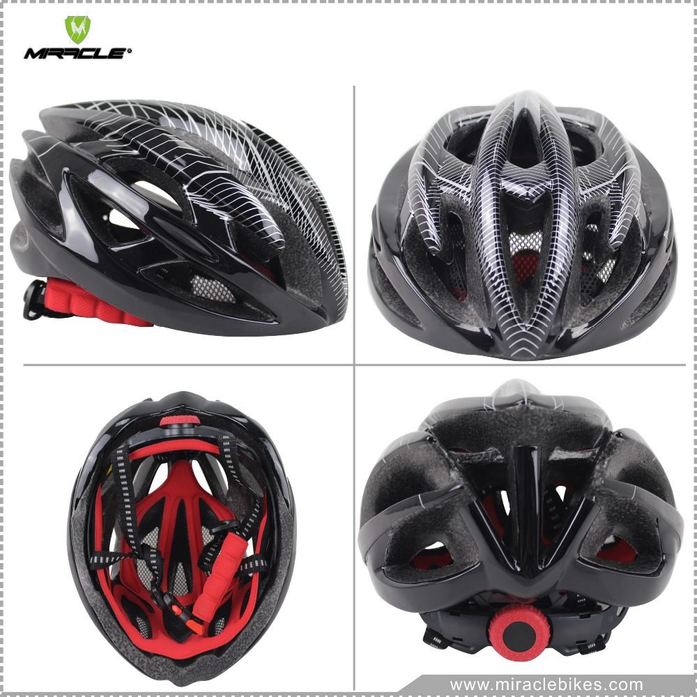 2016 New design bicycle helmet/safety helmet/Bicycle helmet in black color