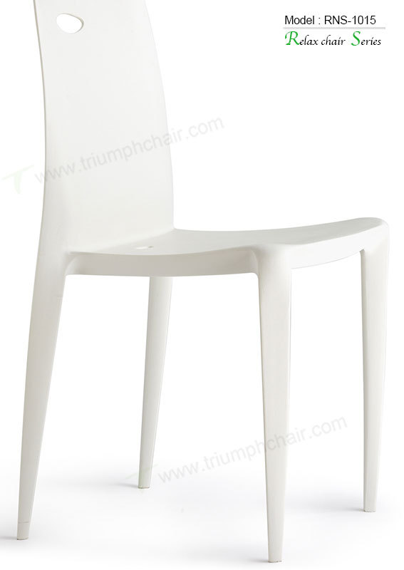Triumph modern white ABS stacking chair hotel chairs / italian design plastic chair / cheap plastic stadium chair