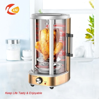 21L electric rotary chicken grill machine, Vertical Grill