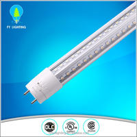 Aluminum lamp body IP44 rating G13 socket 36w tube led light fixture 8ft