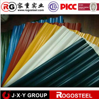 alibaba trust pass for 0.4mm zinc 100 corrugated steel sheet for roofing